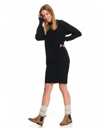 Rochie neagra tricotata...