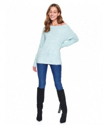 Pulover bleu pufos SSW2923