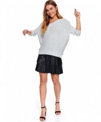 Pulover gri tricotat SSW2927