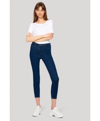 Jeans bleumarin skinny SPO400