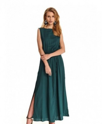Rochie verde lunga  Top...