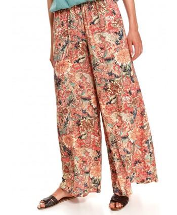 Pantaloni largi portocalii...