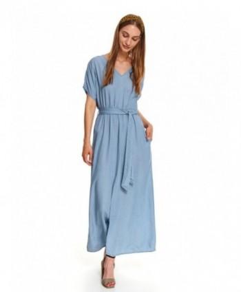 Rochie albastra cu cordon...