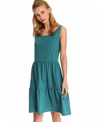 Rochie turquoise cu bretele...