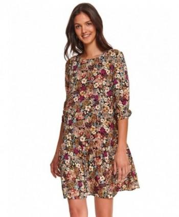Rochie cu flori multicolor...