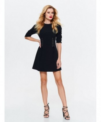 Rochie neagra cu corset Top...