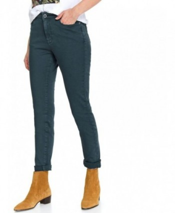 Pantaloni casual verzi SSP3453