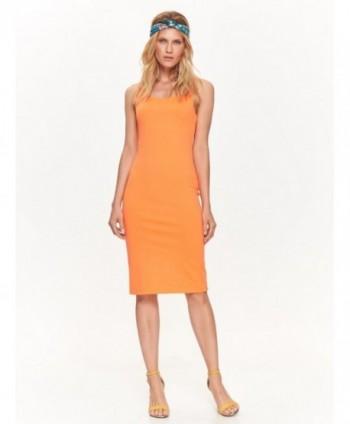Rochie portocalie fara...