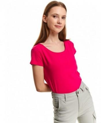 Tricou roz uni SPO4600
