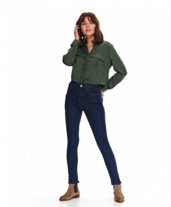 Jeans bleumarin skinny Top...