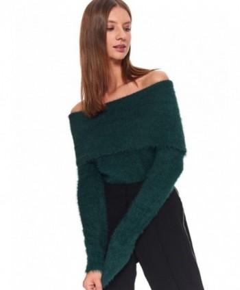 Pulover verde pufos SGO0144