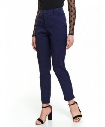 Pantaloni conici bleumarin...