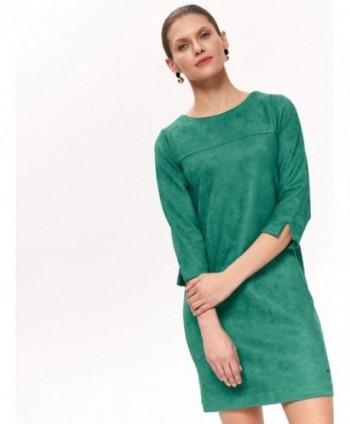 Rochie verde cu maneci 3/4...
