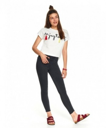 Jeans gri skinny Top Secret...