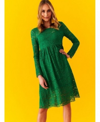 Rochie verde din dantela...