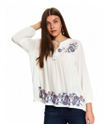 Bluza alba stil ie SBD1159