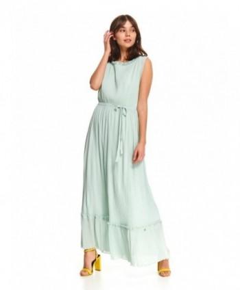 Rochie lunga bleu cu cordon...