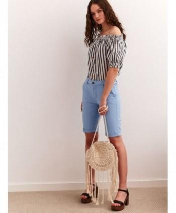 Pantaloni scurti bleu SSZ0915