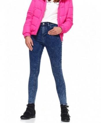 Jeans albastri skinny  Top...