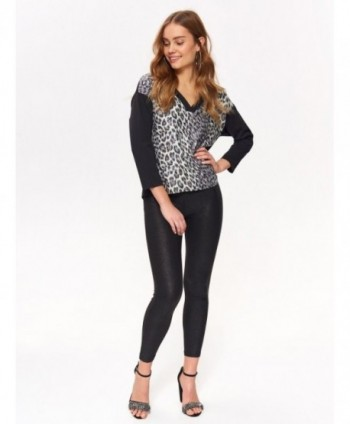 Bluza cu animal print  Top...
