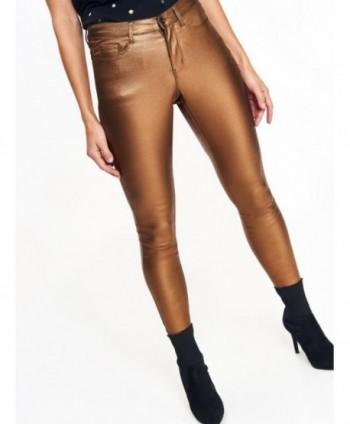 Pantaloni camel luciosi...
