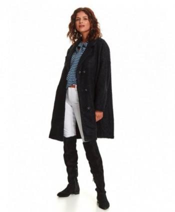 Palton bleumarin oversize...