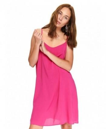 Rochie roz cu bretele...